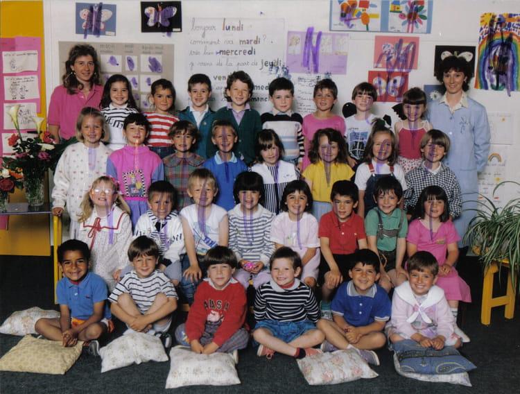 photo de classe maternelle de 1989 ecole paul langevin copains d 39 avant. Black Bedroom Furniture Sets. Home Design Ideas