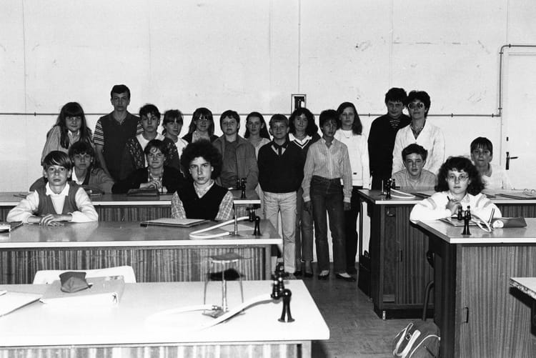Photo de classe classe de 4e c de 1981 coll ge charles for Domon plan b