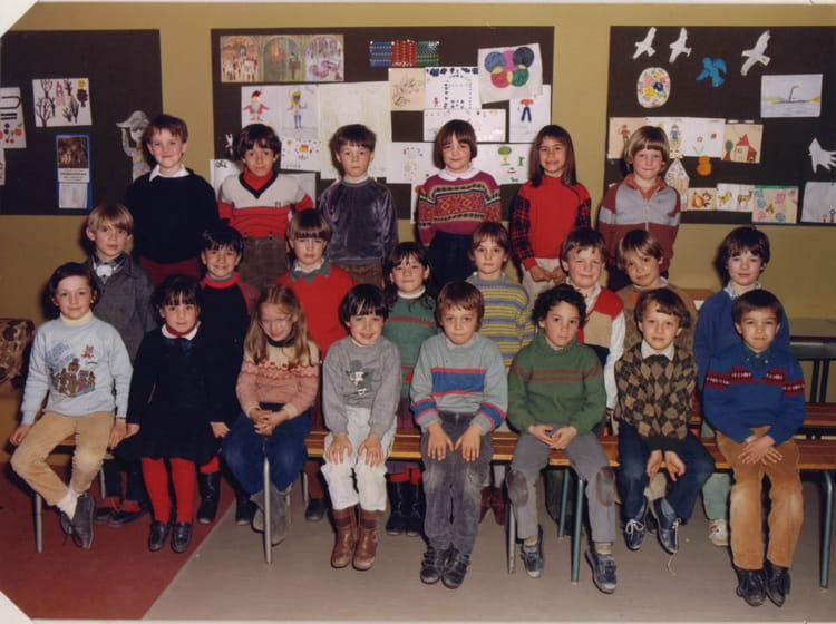 Photo de classe cp de 1984 ecole jean roy la roche sur - Cours cuisine la roche sur yon ...