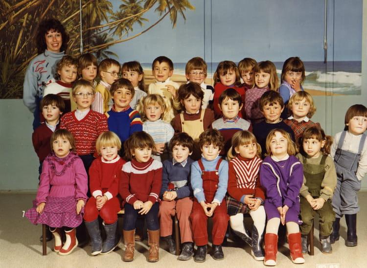 photo de classe maternelle moyenne section de 1983 ecole alexis conio witry les reims. Black Bedroom Furniture Sets. Home Design Ideas