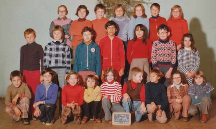 Photo De Classe Cm1 St Mars La Jaille 1976 1977 De 1977 Ecole Jules