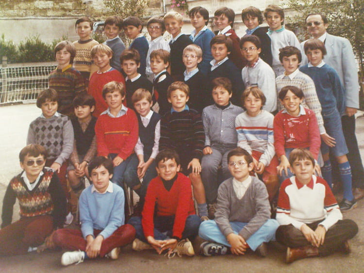 photo de classe cm2 cole saint jean de 1983 ecole saint jean libourne copains d 39 avant. Black Bedroom Furniture Sets. Home Design Ideas