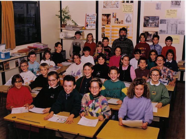 photo de classe cm1 de 1994 ecole jean moulin le may sur evre copains d 39 avant. Black Bedroom Furniture Sets. Home Design Ideas