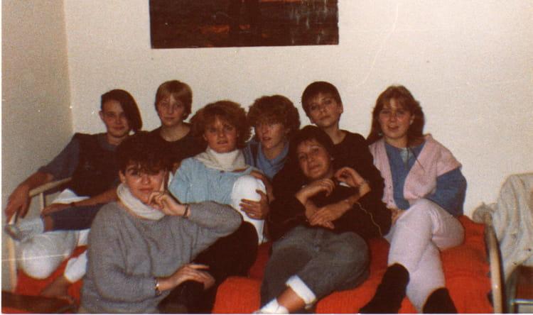 photo de classe tbep  cv 84-85 de 1984  lyc u00e9e professionnel viviani