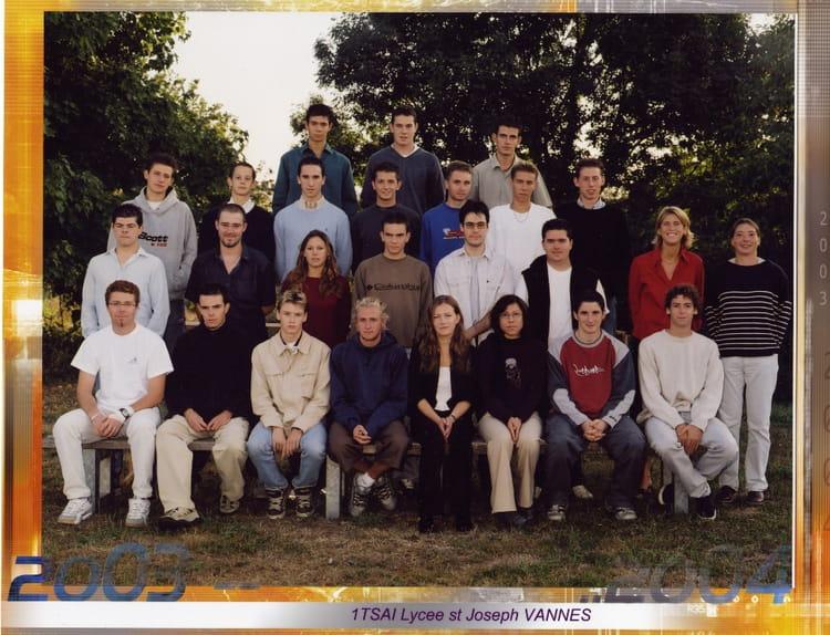 Photo De Classe 1tsai De 2003  Lyc U00e9e Saint