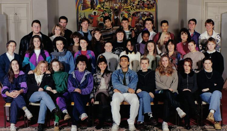 Photo de classe 1 ere G2 adapt de 1992, Itecboisfleury  ~ Itec Bois Fleury