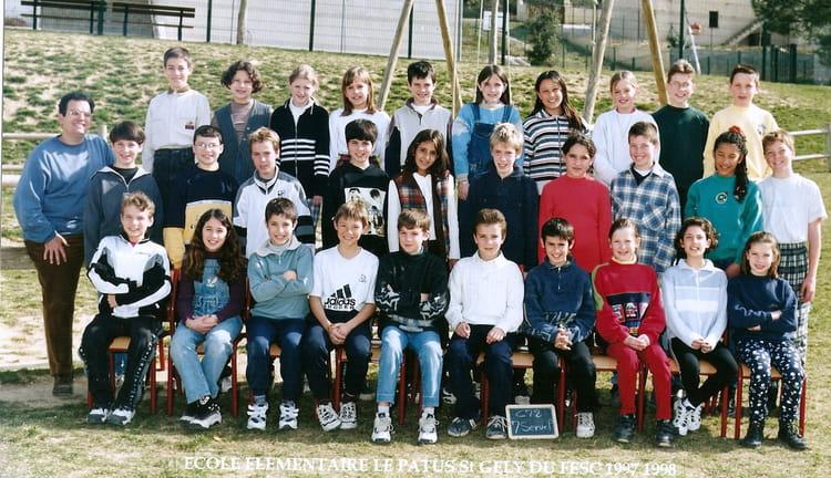 Photo de classe cm2 de 1998 ecole le patus saint gely du - Salon de la chasse saint gely du fesc ...