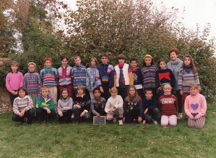 Photo de classe cm2 avec mme brissard de 1995 ecole for Garage bailleau le pin