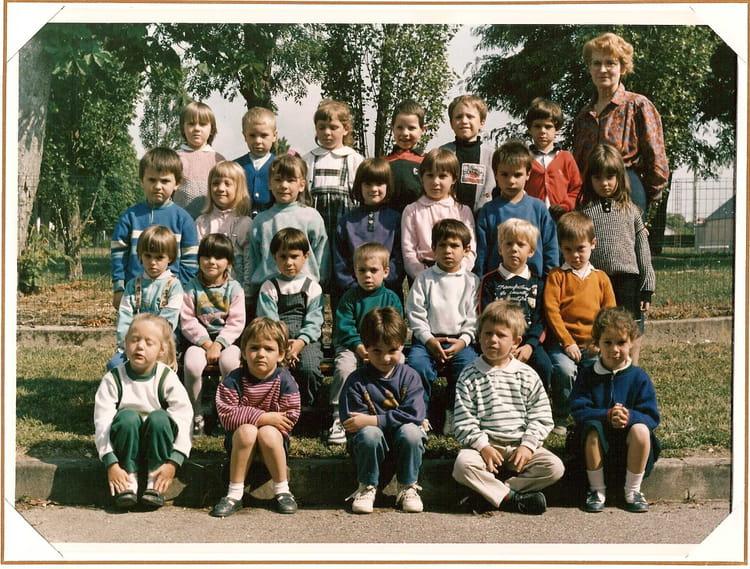 photo de classe cole maternelle de 1989 ecole des acacias la chapelle saint ursin copains. Black Bedroom Furniture Sets. Home Design Ideas