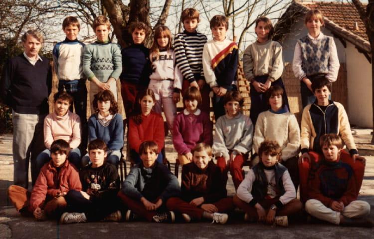photo de classe cm2 de 1985 ecole primaire bon encontre copains d 39 avant. Black Bedroom Furniture Sets. Home Design Ideas