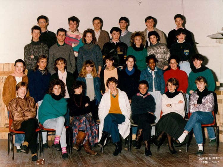photo de classe f12 de 1987 ecole boulle copains d 39 avant. Black Bedroom Furniture Sets. Home Design Ideas