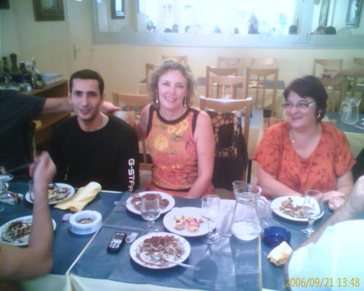 Photo de classe sortie restaurant entre coll gues de 2006 for Diner entre copains