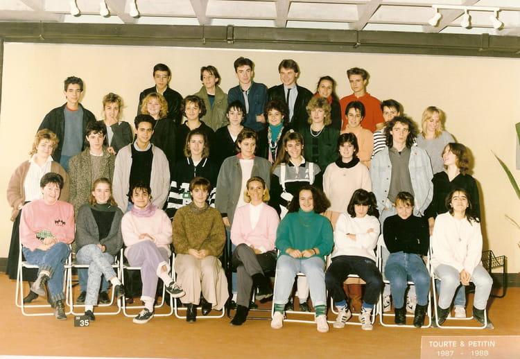 photo de classe terminale4 de 1988 lyc e albert einstein copains d 39 avant. Black Bedroom Furniture Sets. Home Design Ideas