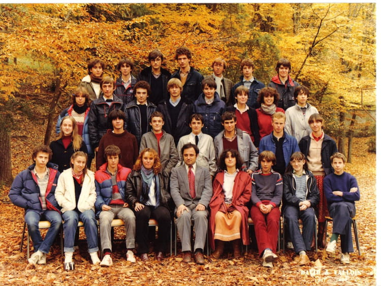 Photo de classe Seconde 3 19811982 de 1982, Itec  ~ Itec Bois Fleury