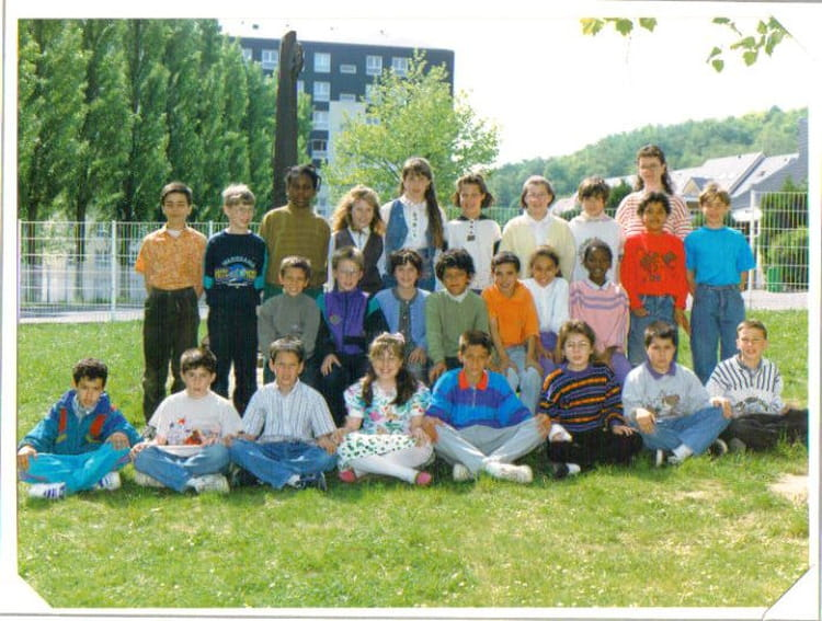 photo de classe cm1 cm2 de 1992 ecole jean rostand. Black Bedroom Furniture Sets. Home Design Ideas
