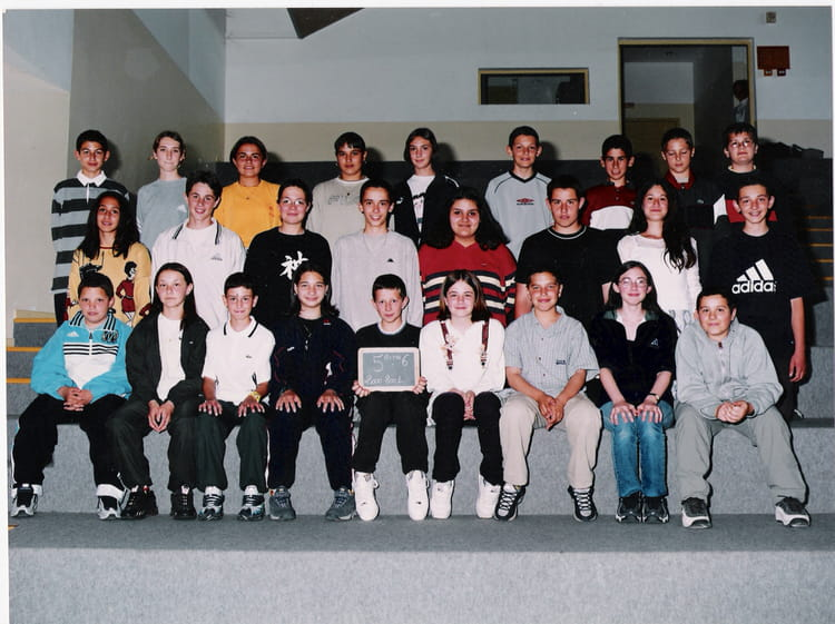 Photo de classe 5 me 6 de 2000 coll ge gr asque copains - College jean moulin salon de provence ...