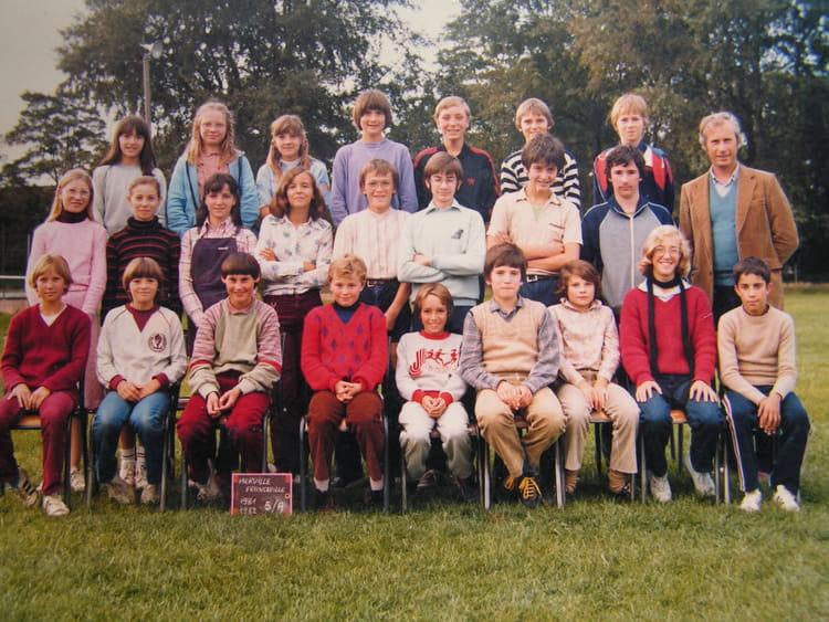 Photo de classe CLASSE 5e de 1981, COLLEGE ALFRED KASTLER   Copains d u0026#39;avant