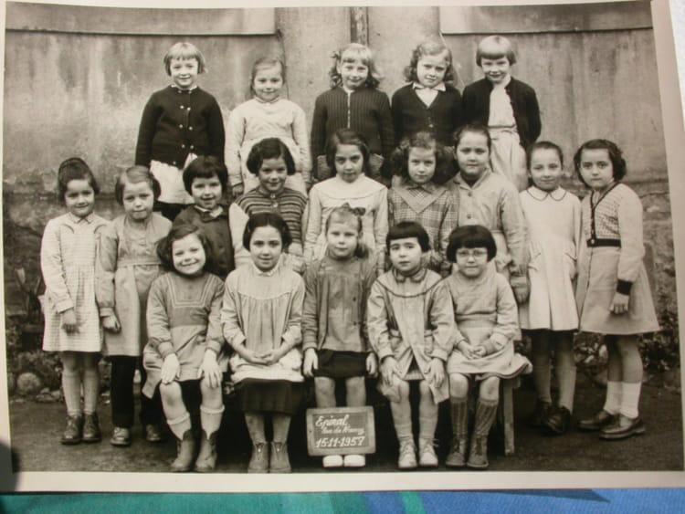 Photo de classe ce1 de 1957 ecole rue de nancy a epinal for Rue catherine opalinska nancy