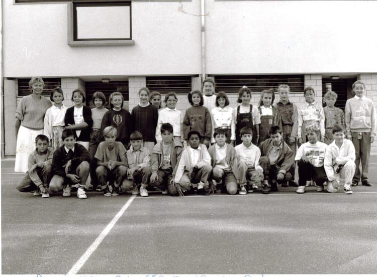 Photo de classe 6 me b de 1990 coll ge du jardin des plantes copains d 39 avant - College du jardin des plantes ...
