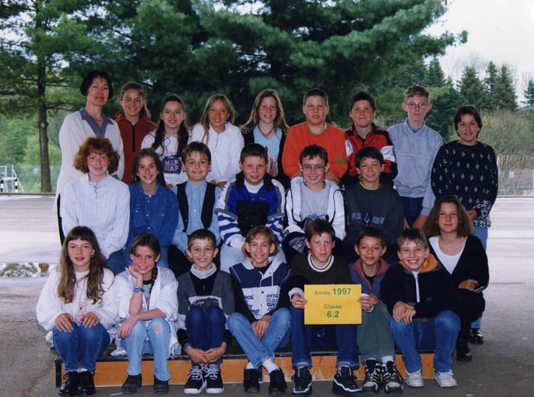 Photo de classe 6 2 de 1997 coll ge jules jeanneney for Pronote college jean moulin salon