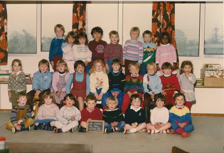 Photo de classe Maternelle 1983-1984 de 1984, Ecole Primaire (Le ...