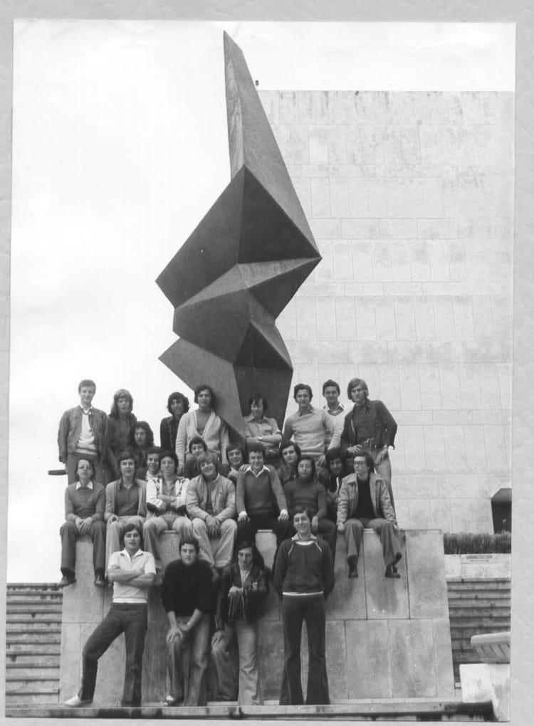 Photo de classe terminale e 1975 1976 de 1976 lyc e - Lycee craponne salon ...