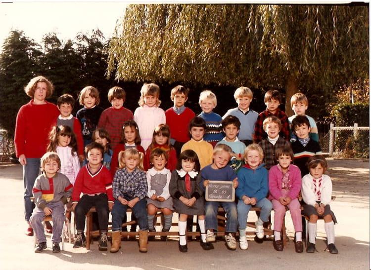 photo de classe grands 1 de 1984 ecole notre dame flers copains d 39 avant. Black Bedroom Furniture Sets. Home Design Ideas