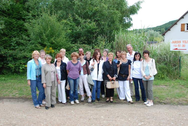Photo de classe visite du jardin de yili st r my l for Jardin a visiter 78