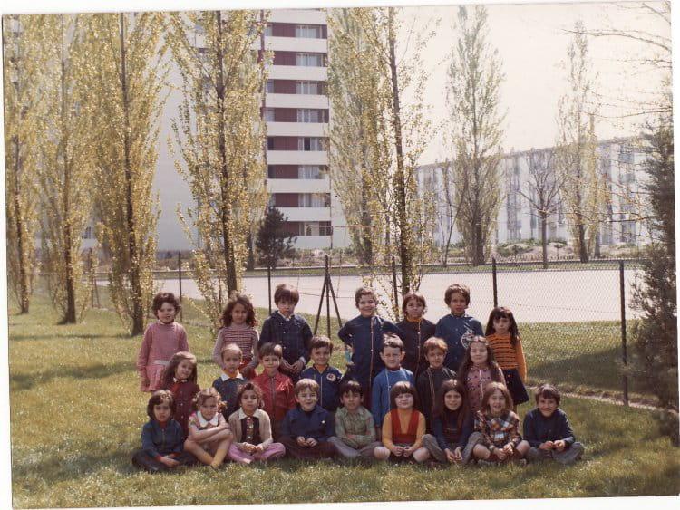 photo de classe classe de cp 1973 1974 de 1973 ecole henri wallon saint pierre des corps. Black Bedroom Furniture Sets. Home Design Ideas