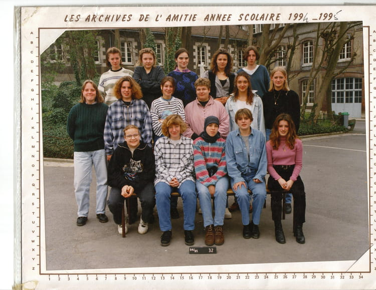 1994 - 3eme technologie - collège jeanne d'arc