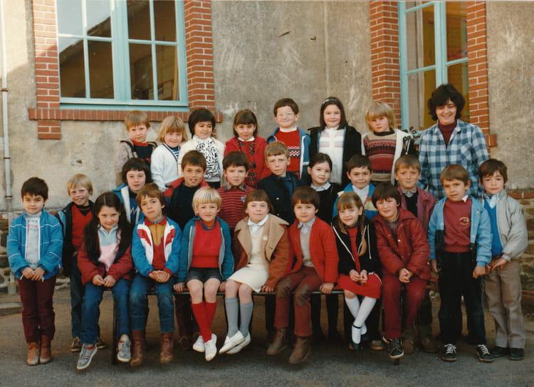 Photo de classe CP St Joseph à Ste Marie de 1985, ECOLE