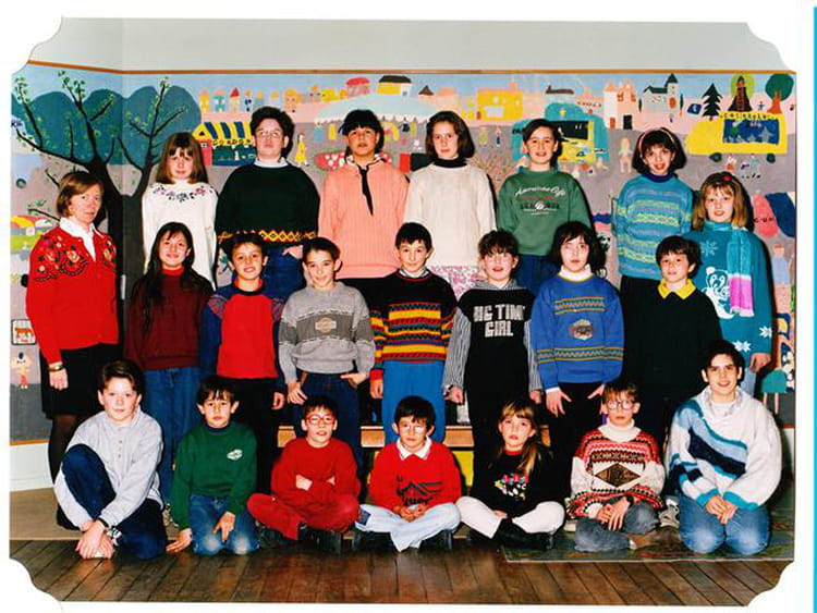 Photo De Classe Classe De Cm2 De 1994 Ecole Saint Joseph Jujurieux