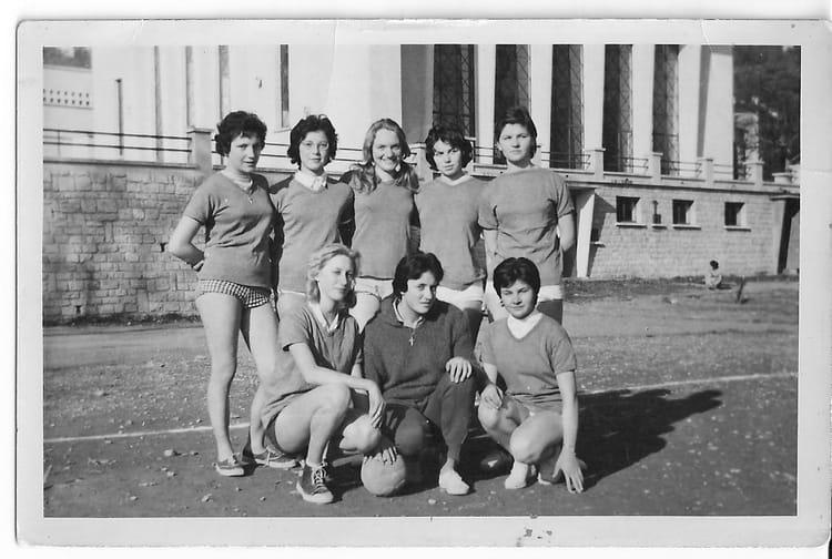 photo de classe equipe de hand ball de 1959 coll ge andr chamson copains d 39 avant. Black Bedroom Furniture Sets. Home Design Ideas