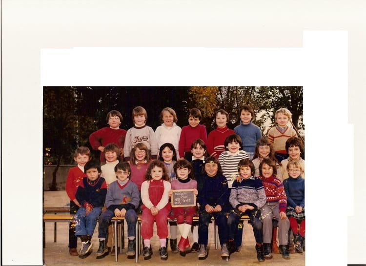 photo de classe cp de 1983 ecole de la vallee du lay mareuil sur lay dissais copains d 39 avant. Black Bedroom Furniture Sets. Home Design Ideas