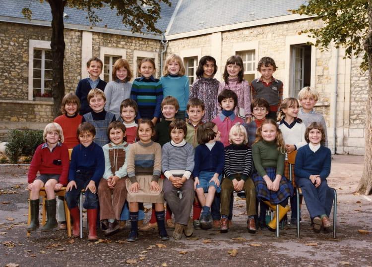 photo de classe ce2 de 1980 ecole lucette salle nevers copains d avant