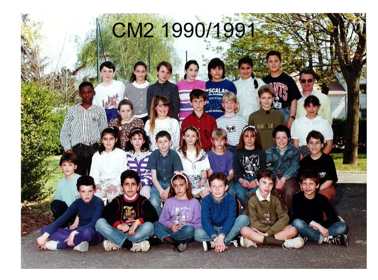 photo de classe cm2 de 1991 ecole jean jaures sainte genevieve des bois copains d 39 avant. Black Bedroom Furniture Sets. Home Design Ideas