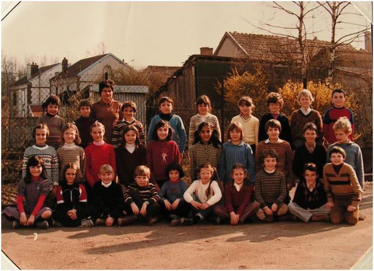 Photo de classe cm1 cm2 de 1981 ecole leclerc pierry for Leclerc pierry