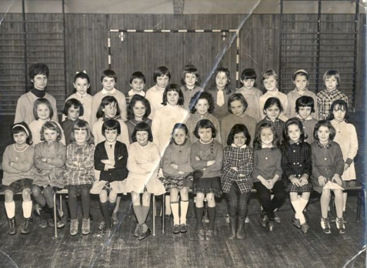 Coloriage Gymnase Ecole.Photo De Classe Gymnase Jacques Decours Le Blanc Mesnil De 1965