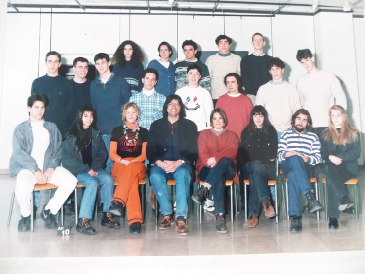 photo de classe 1er fma 1 de 1995 ecole boulle copains d 39 avant. Black Bedroom Furniture Sets. Home Design Ideas