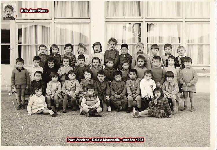 photo de classe maternelle de 1964 ecole pasteur copains d 39 avant. Black Bedroom Furniture Sets. Home Design Ideas