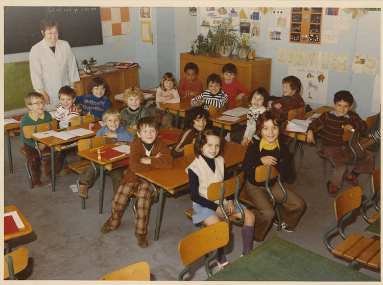 photo de classe cp de 1976 ecole paul vaillant couturier copains d 39 avant. Black Bedroom Furniture Sets. Home Design Ideas