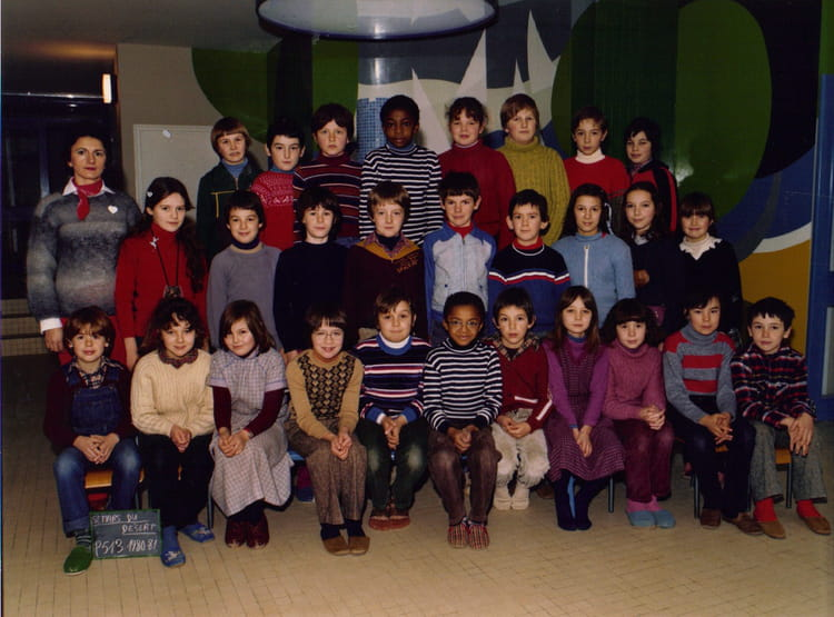 photo de classe p513 de 1980 ecole george sand saint mars du desert copains d 39 avant. Black Bedroom Furniture Sets. Home Design Ideas