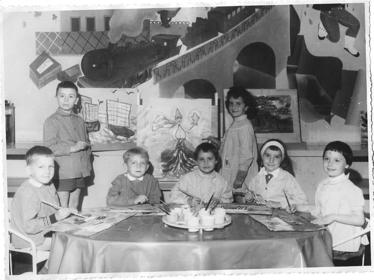photo de classe ecole maternelle jules ferry maisons alfort 94 de 1961 ecole jules ferry
