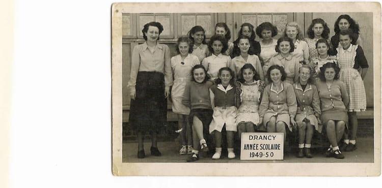 Clinique Bois D Amour Drancy - Photo de classe Certificat d'études de 1949, ECOLE JEAN JAURES Copains d'avant