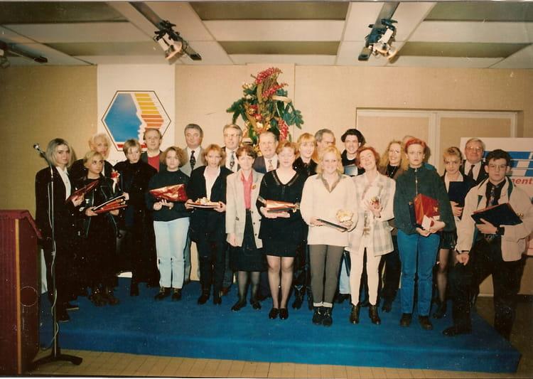 Photo de classe remise des diplome coiffure de 1996 cfa chambre des m tiers du nord copains d - Chambre des metiers du nord ...