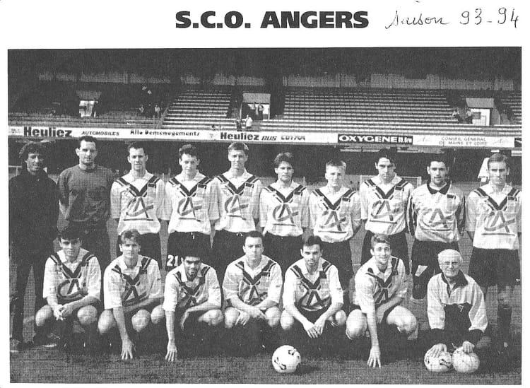 Coloriage Foot Sco Angers.Photo De Classe Effectif 1993 94 De 1993 Sco Angers Copains D Avant