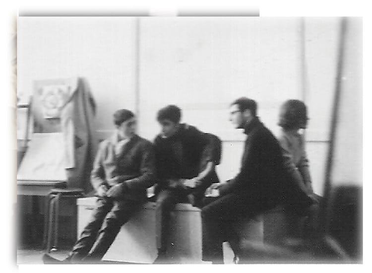 Photo de classe Modele vivant de 1964, Ecole Des Beaux-arts - Copains d'avant