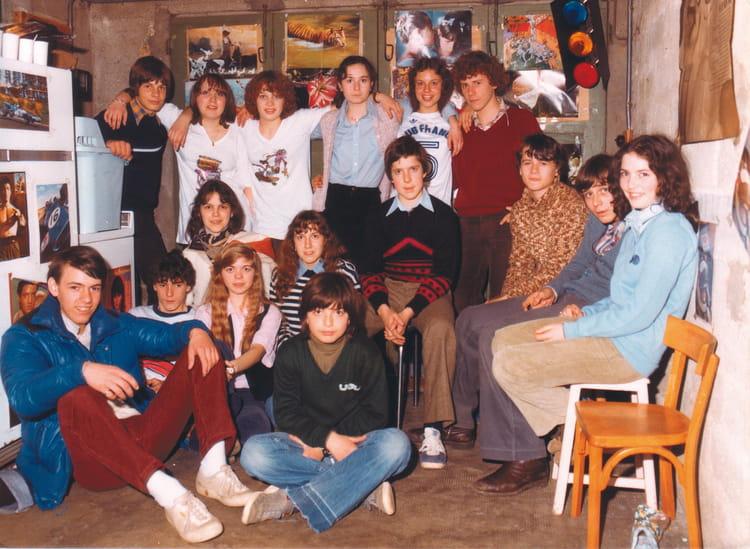 photo de classe boum dans notre garage de 1979 lyc e albert einstein copains d 39 avant. Black Bedroom Furniture Sets. Home Design Ideas