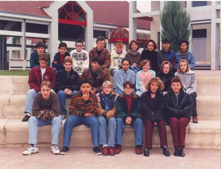 photo de classe 4eme3 de 1992 coll ge marie no l