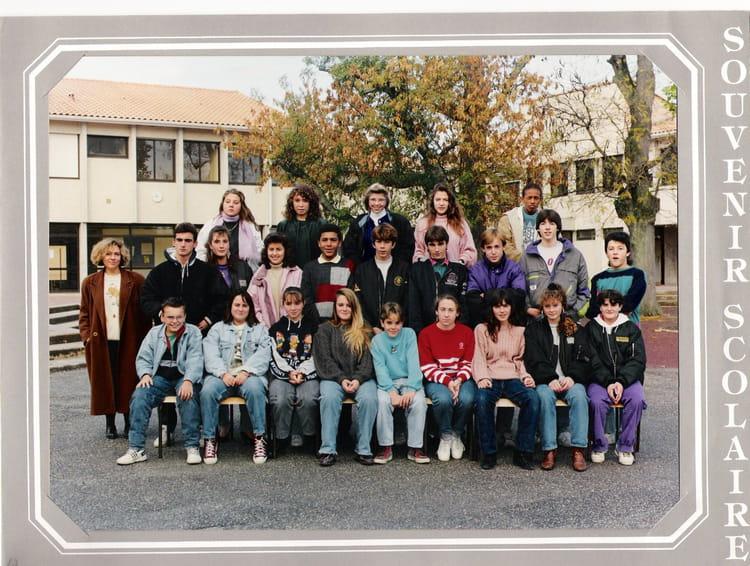 photo de classe 3 176 2 1991 1992 de 1991 coll 232 ge porte du m 233 doc copains d avant